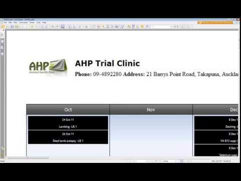 Animal Health Plan AHP Webinar Original