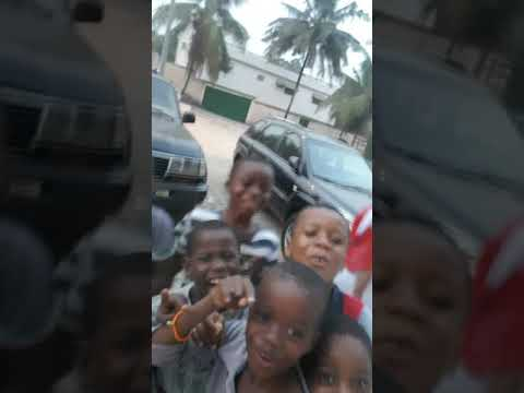 Abidjan avec la garde rapprochée