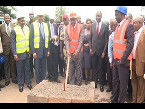 Infrastructures: Lancement des travaux de bitumage de l'axe Danané-frontière Guinée
