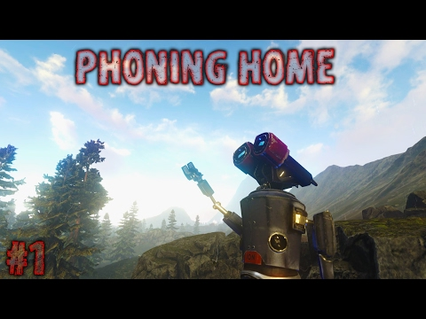 Phone Home | Gameplay Walkthrough | Exploring-New | Ep1 | No-Com