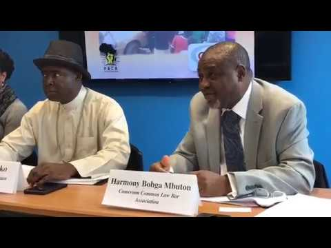 Institute of Policy Studies Washington DC  Briefing on Southern Cameroons
