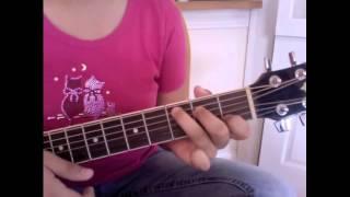 Heart Attack de Demi Lovato -TUTORIAL de guitarra en ESPAÑOL - FACIL, SIN CAPO