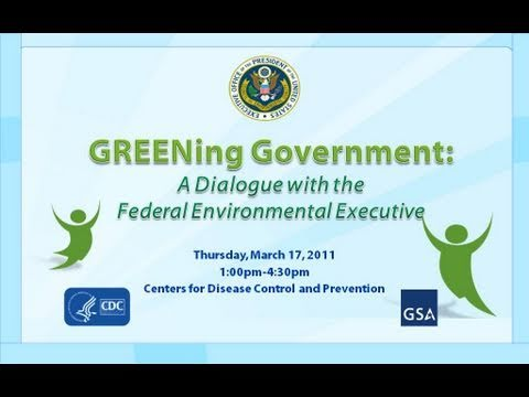 Greening Government  Part 1