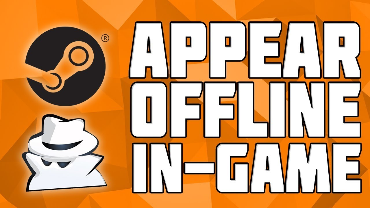 How to Appear Offline on Steam! Hide From Friends on Steam! Play online  games without freindslist!