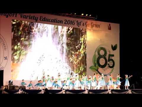 Let's go green  Montfort Variety Education 2016 (EP8)