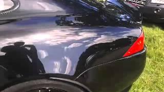Jaguar XKR auto at raby castle car show