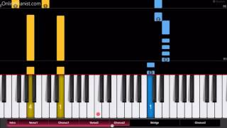 Shakira Carlos Vives La Bicicleta - Piano Tutorial - Easy Version.mp3