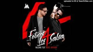 Maluma Ft  Marc Anthony   Felices Los 4 Salsa Version   2017