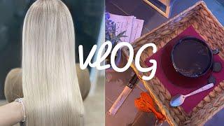 Влог:покрасила волосы,ПОДАРОК НЕ СОСТОЯЛСЯ,что случилось с подарком?