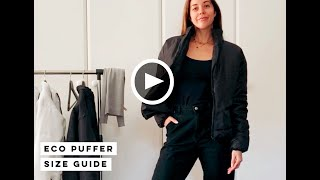 ECO PUFFER Size Guide