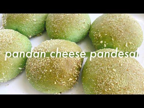 pandan-cheese-pandesal---bread-machine-recipe