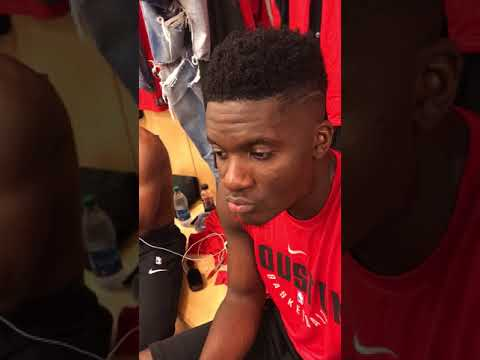 Clint capela pre game interview for hoops.co.il