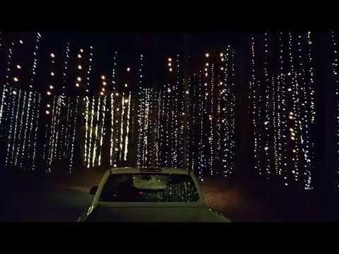 Fantasy in lights Callaway gardens.