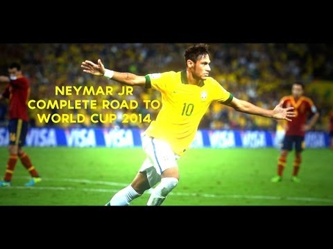 Neymar Jr | Complete Road To World Cup 2014 | Brazil | HD