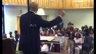 Senator Kay Hagan and N.J. Senator Corey Booker visit local church