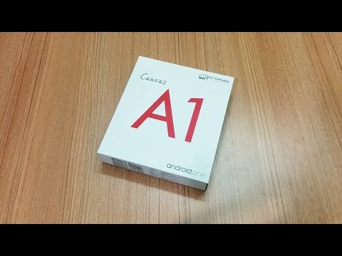 Android One | Micromax canvas A1 Unboxing !