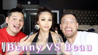 who did my makeup best beau vs benny