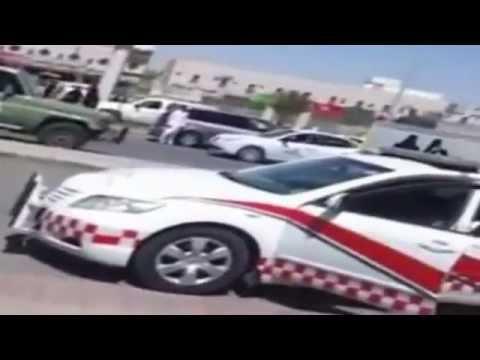 حريق جامعة الاميرة نورة بالرياض مخرج 9