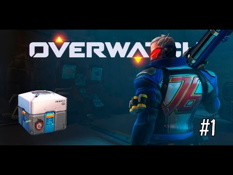 Overwatch (PS4): Análisis a fondo del juego con SOLDADO 76+Abriendo CAJAS DE BOTÍN! #1