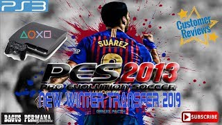 PES 2013 PS3 GENJIX PATCH WINTER TRANSFER 2019 [Link ?]
