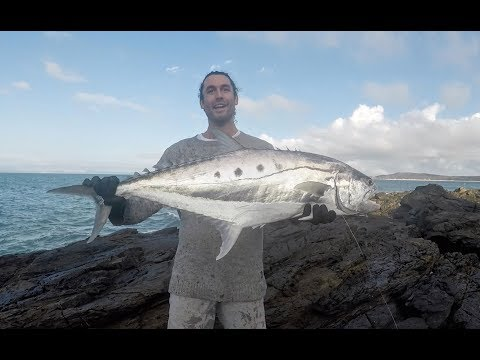 A tropical Island fishing adventure