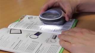 Produktvideo zu Handlupe mit 7-facher Vergrößerung Eschenbach Powerlux 7