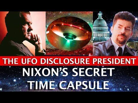 NIXON'S SECRET TIME CAPSULE: THE UFO DISCLOSURE PRESIDENT! DARK JOURNALIST & ROBERT MERRITT