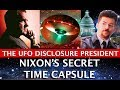 NIXON'S SECRET TIME CAPSULE: THE UFO DISCLOSURE PRESIDENT! DARK JOURNALIST & ROBERT MERRITT