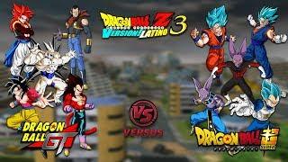 DRAGON BALL: GT VS SUPER - Dragon Ball Z Budokai Tenkaichi 3 Version Latino