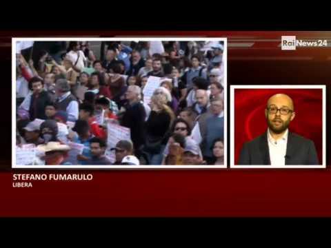 Stefano Fumarulo di Libera: 'In Messico 27mila desaparecidos'