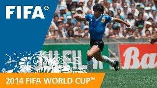 Diego Maradona v England '86 - #91 Days to FWC Brazil 2014