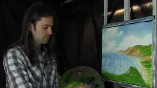 Lost Episode, Soft Seascape - Painting Lesson