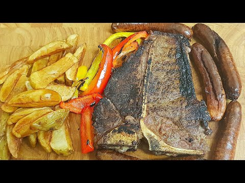T-bone Steak Dinner | Steak Recipe's | How To Cook A T-bone