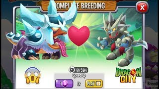 Dragon City: Frostling Dragon vs Ironscales Dragon [EXCLUSIVE BREEDING]