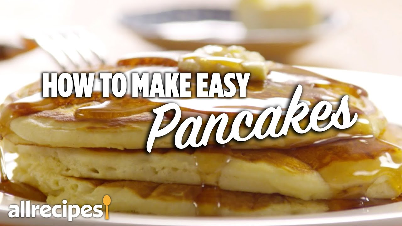 How to make easy pancakes youtube how to make easy pancakes ccuart