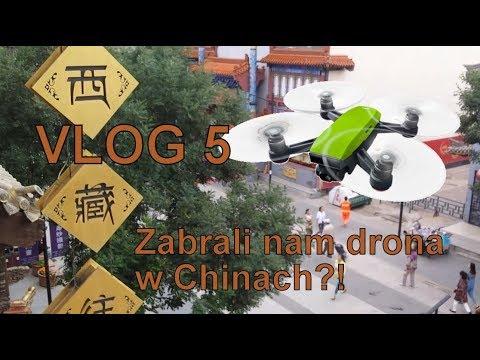CHINY - ZABRALI NAM DRONA DJI SPARK?! GROTY YUNGANG - DATONG