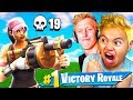 MY 9 YEAR OLD LITTLE BROTHER TURNS INTO FAZE TFUE! YOU WONT BELIEVE WHAT HAPPENED.... FORTNITE BR