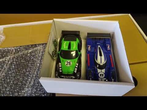 Scalextric Super International GT set Unbox