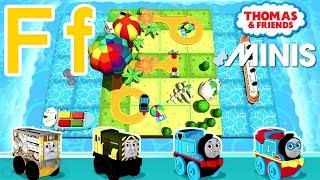 Ff — Thomas ve Arkadaşları Mini ile Öğrenmek Akk Kendi mektup 'Senin'F'' Tren yolu İnşa Verilmiştir.