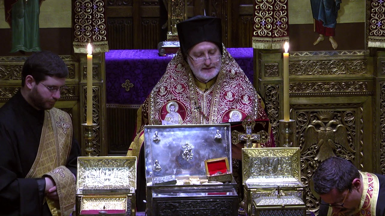 Archbishop Elpidophoros Prays for the Healing of Sickness #COVID-19