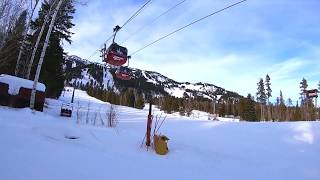 Jackson Hole Top To Bottom Run