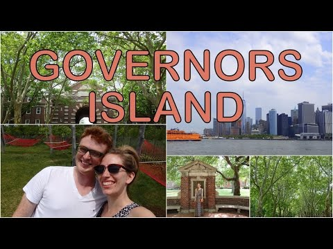 Exploring Governors Island in New York City