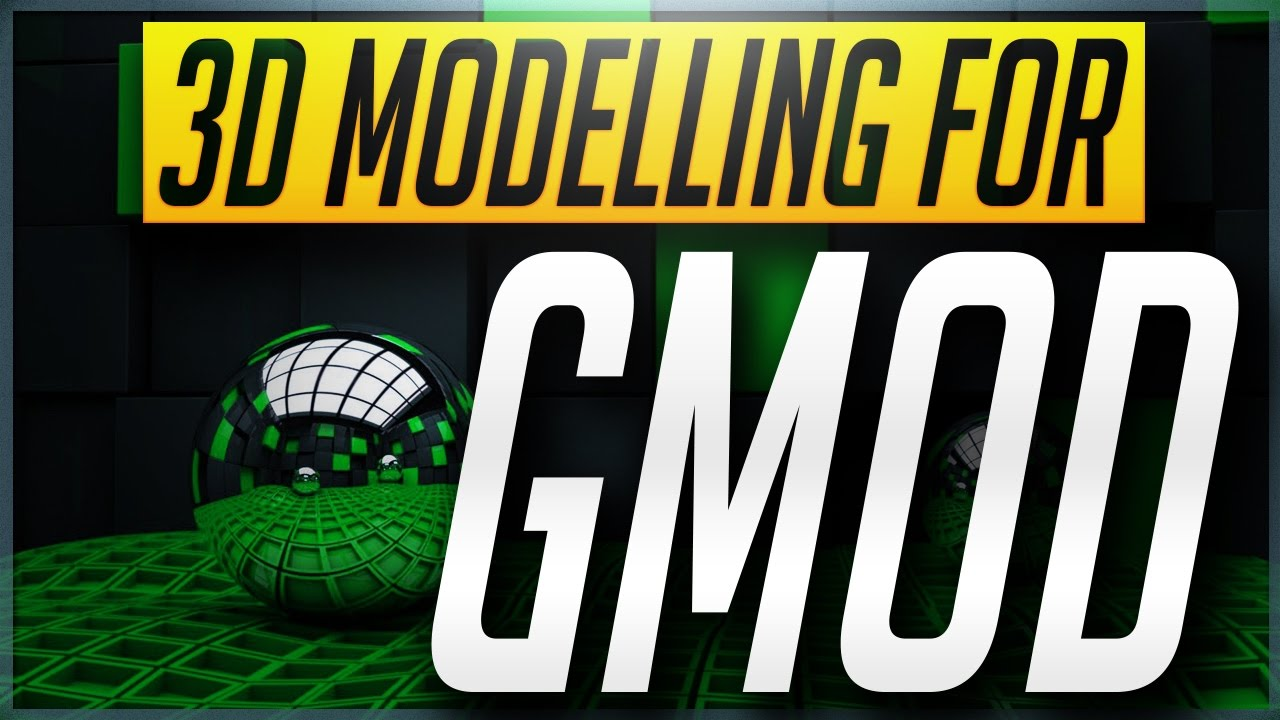How to Create & Texture 3D Models for Gmod with Blender! BEST WAY!  [Exporting & 3D Modeling] 2019