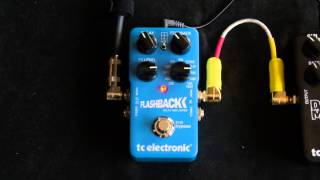 TC Electronic Flashback Review - Guitar Delay & Looper Pedal