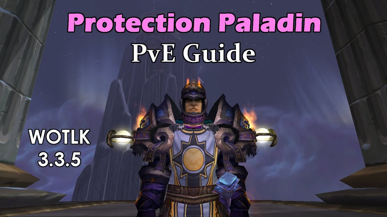 Protection Paladin 3.3.5 PvE Guide - YouTube