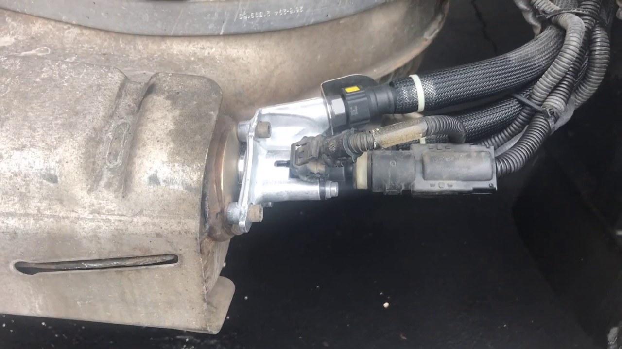 hight resolution of 2011 mack pinnacle nox sensor and def dosing valve location and replaced