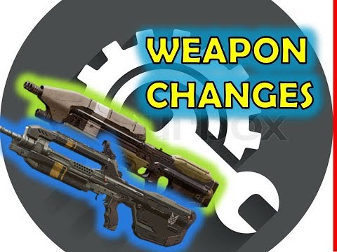 AR CHANGES AND WEAPON TUNING PLAYLIST TEST!  Halo 5 4K update Sandbox NEWS