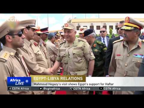 Egypt's army chief meets Libya's Haftar in show of support