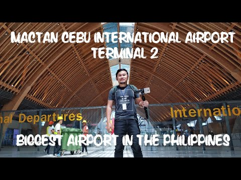 Watch the New Mactan Cebu International Airport (MCIA) Terminal 2