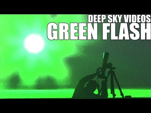 Green Flash and Belt of Venus - Deep Sky Videos